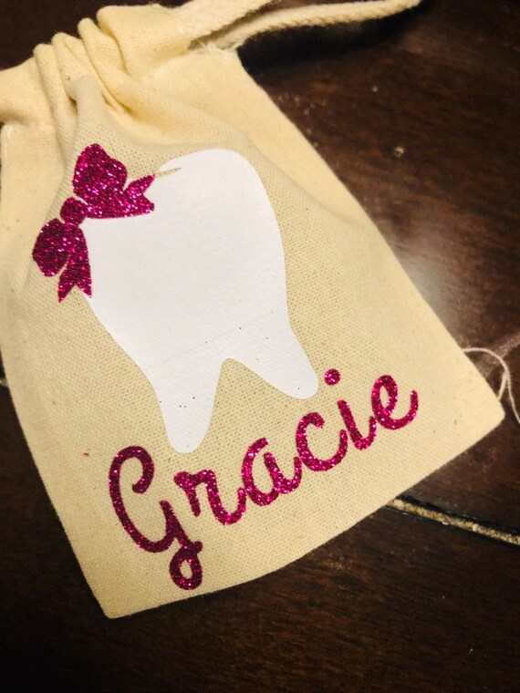 Childrens Tooth Fairy Bag Etsy