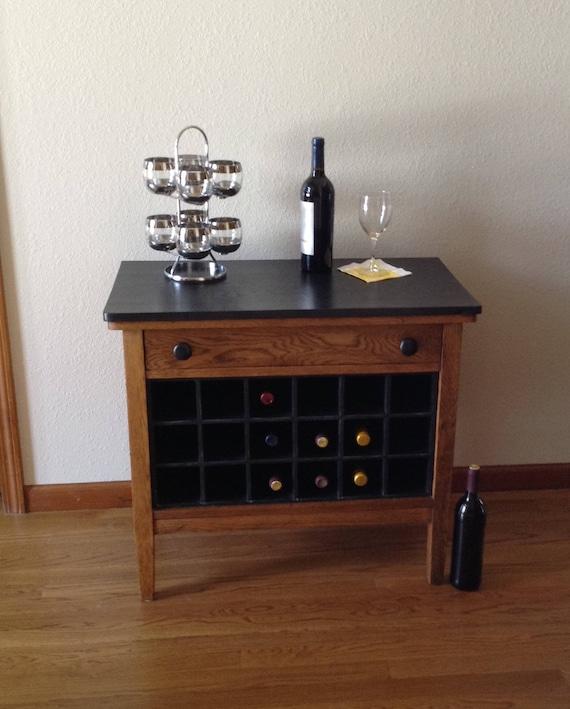 Custom Antique Wine Cabinet Dry Bar, Dry Bar Furniture