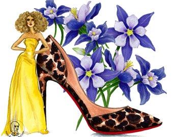 High Heels & Flowers