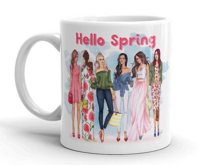 Hello Spring Mug