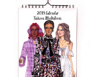 Fashionista Calendar