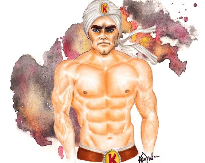 Kaliman Mexican Superhero