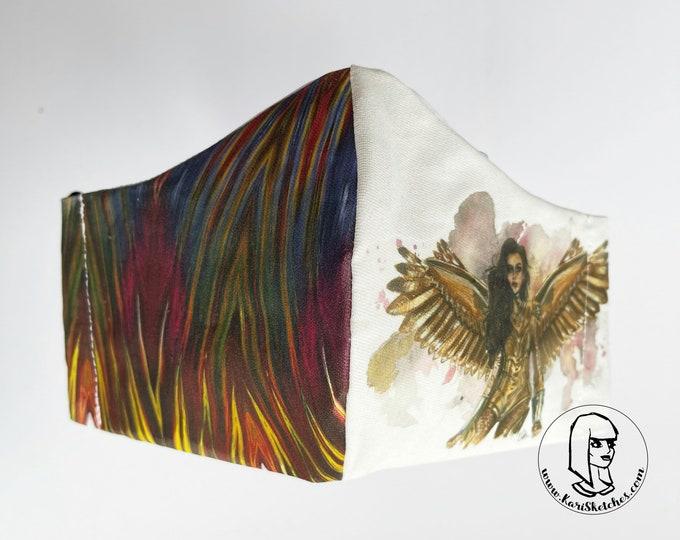 WW84 Golden Eagle Facemask