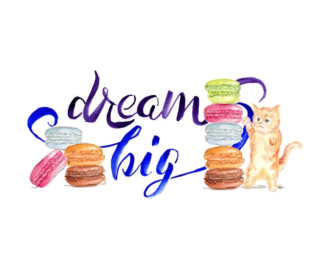 Dream Big Kitty