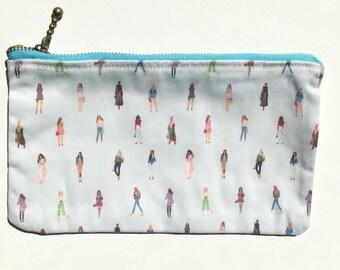 Girls Zip Wallet