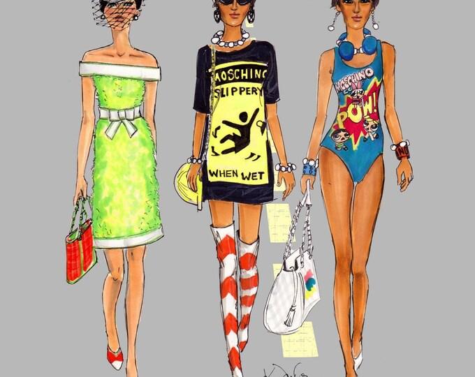 Moschino Girls.