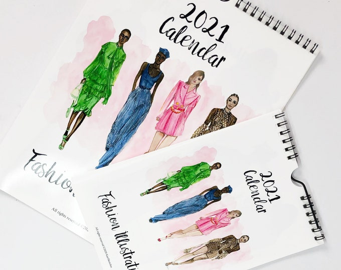2021 Fashion Calendar