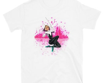 Spider Gwen Short-Sleeve Unisex T-Shirt