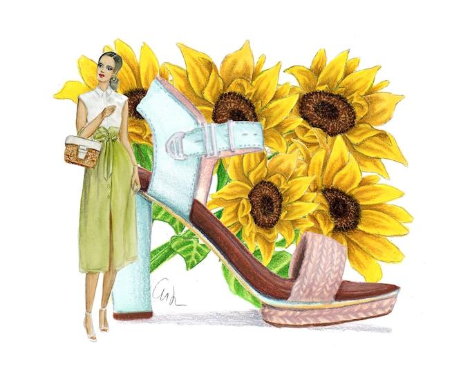 Platforms and Sunflowers