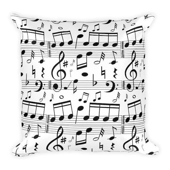 Oreiller De Musique Musique Decor Musique Literie Decor De Salle