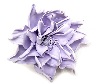 Purple ponytail holder scrunchy Purple hair tie gift|for|girls ponytail hair bows HAIR PONY hair band flower elastic flowers bow