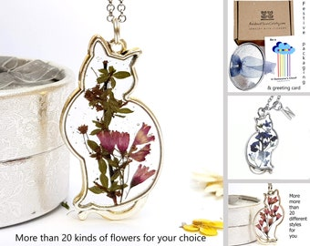 Gifts for cat lovers gift ideas for mom Іnitial necklace Cat necklace graduation gift Personalized gifts Cat jewelry Birthday present
