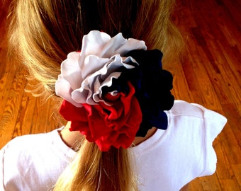 """4th of july hair bow 3,2"""" independence day USA 4th of july baby outfit july 4th celebration patriotic bow patriotic hair bow american bow"""