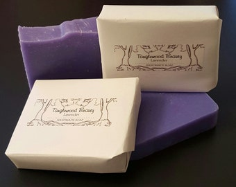 Lavender- Handmade Soap with Shea and Cocoa Butter