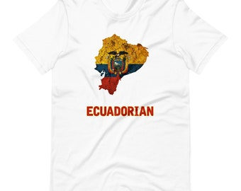 Ecuador Flag Short-Sleeve Unisex T-Shirt