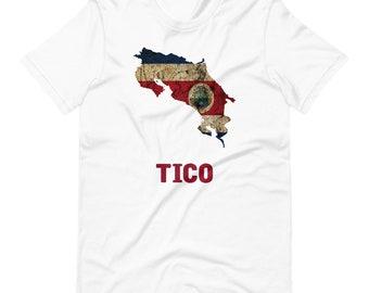 "Costa Rica ""Tico"" Short-Sleeve Unisex T-Shirt"