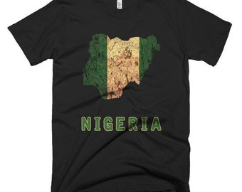 The Nigeria T-Shirt (mens fitted)