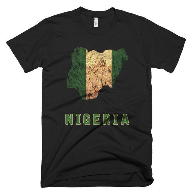 The Nigeria T-Shirt mens fitted image 0