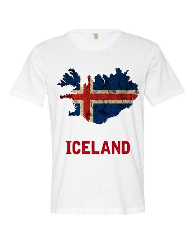 The Iceland Flag T-Shirt regular fit image 0
