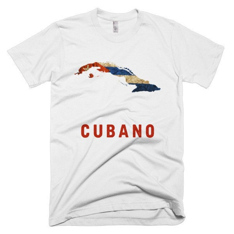 The Cubano Cuban Flag T-Shirt fitted image 0