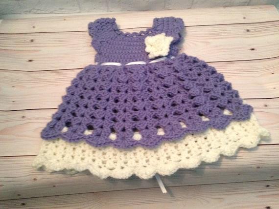 Häkeln Sie Baby Kleid Häkelkleidung Für Neugeborene Häkeln Etsy