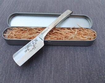 Japanese style Kamisori Straight razor Windrose 6/8th Shave ready! Sakura