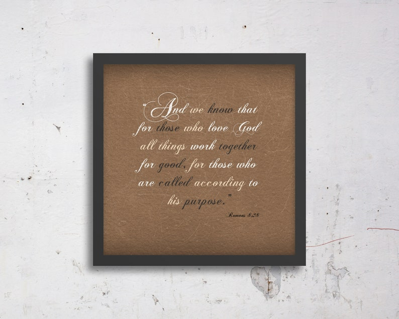 Scripture Gift For Women Rustic Style Bible Verse Decor Etsy