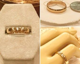 Pms 10k Gold Ring Etsy