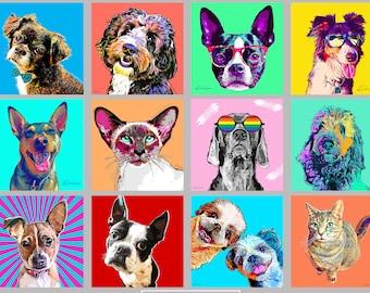 POP Art Pet Portraits