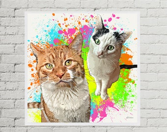 Paint Splash Pets