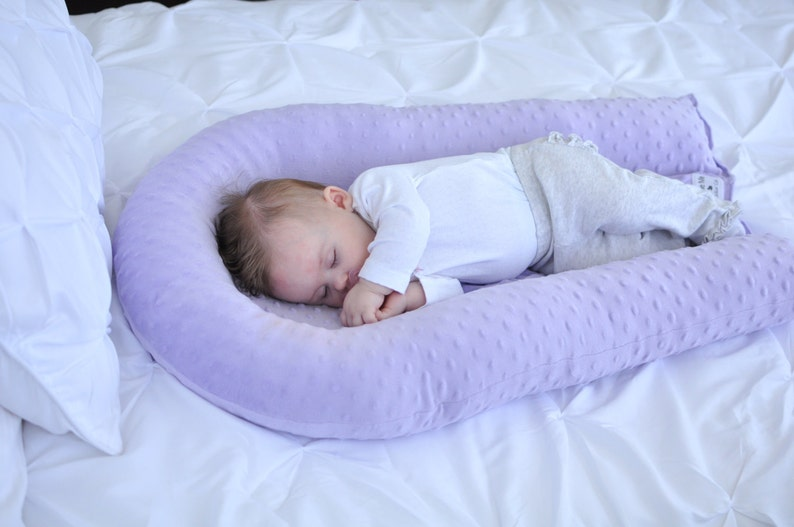 Beau Baby Sleep Pillow   Cosleep   Baby Nest   Baby Lounger   Toddler Baby Bed    Cradle Me Pillow