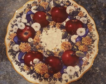 Meaningful Harvest Autumn Glory collectible plate