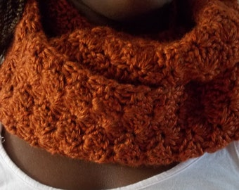 Infinity Cowl, Crochet Scarf, Ladies Cowl,Crochet Infinity Cowl, Infinity Cowl