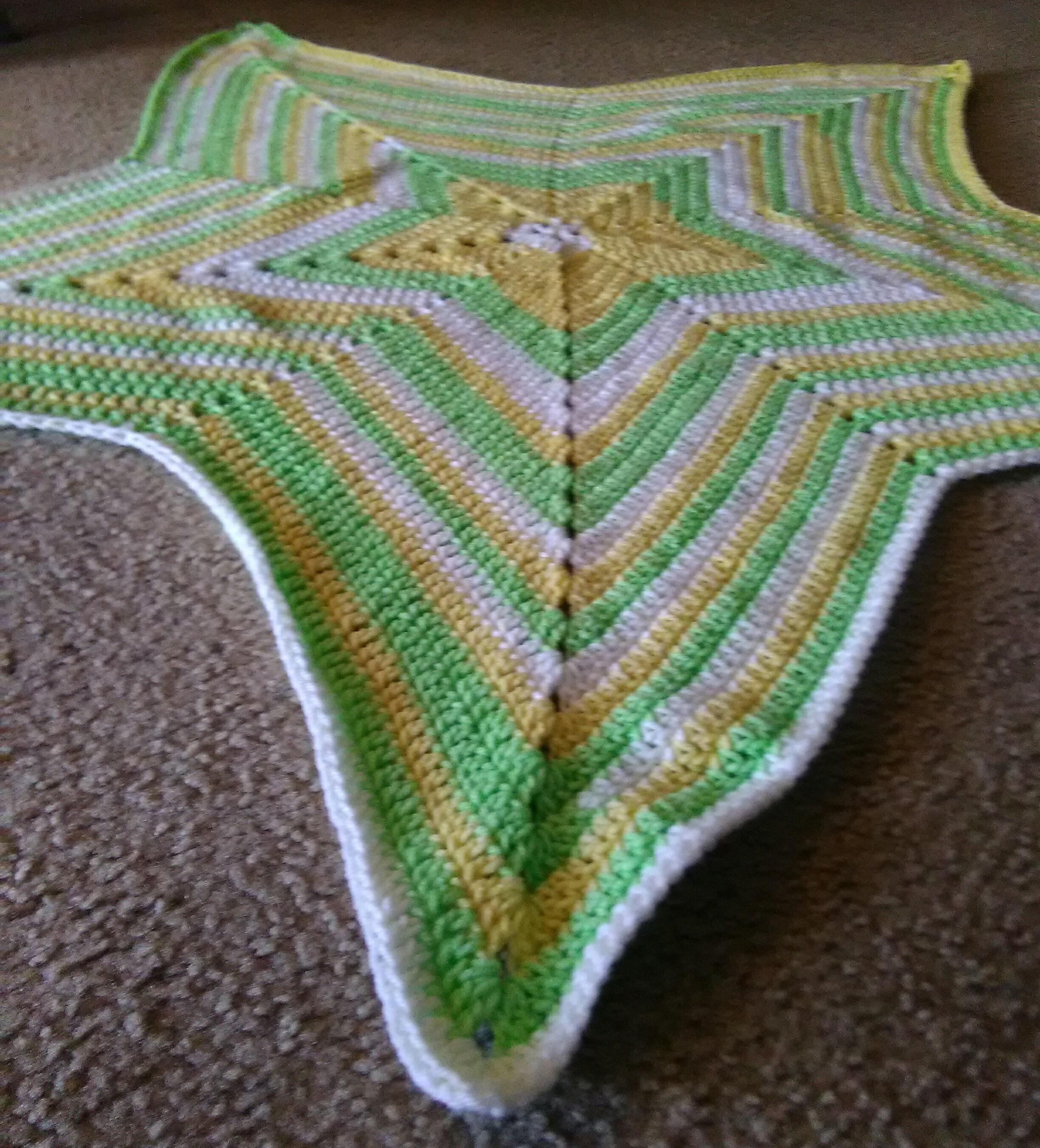Five Point Star Blanket 5 Point Star Blanket Star Baby Etsy