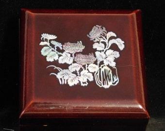 Korean Mother of Pearl inlay treasure box