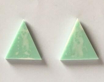 Paint Splatter - Resin Art Earrings