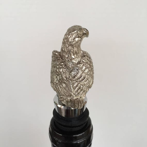 The Pewter Figure is Cast with the Finest Jewelry Grade Pewter Cast and Made in Texas Wolf Wine Bottle Stopper