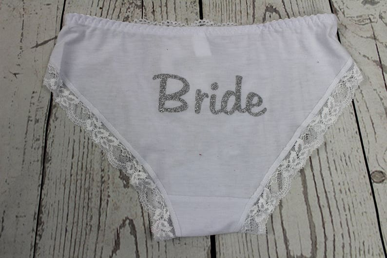 769f8fcf04fe Bride Wedding night Bridal Lingerie Wedding Day Panties | Etsy
