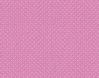 SALE Lucy June Blocks C11225 Pink - Riley Blake Designs - Checkerboard Tone-on-Tone - Quilting Cotton Fabric