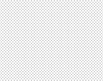 Black Swiss Dots on White by Riley Blake Designs - Polka Dot - Quilting Cotton Fabric - choose your cut