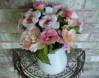 Pink Floral Arrangement  CLEARANCE