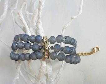 Grace Kelly MULTISTRAND bracelet