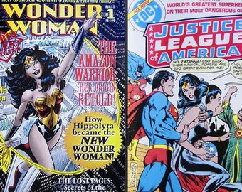 Wonder Woman Collection-Six issues including two No. One and one No. Zero issues! Plus a Wonder Woman keychain!