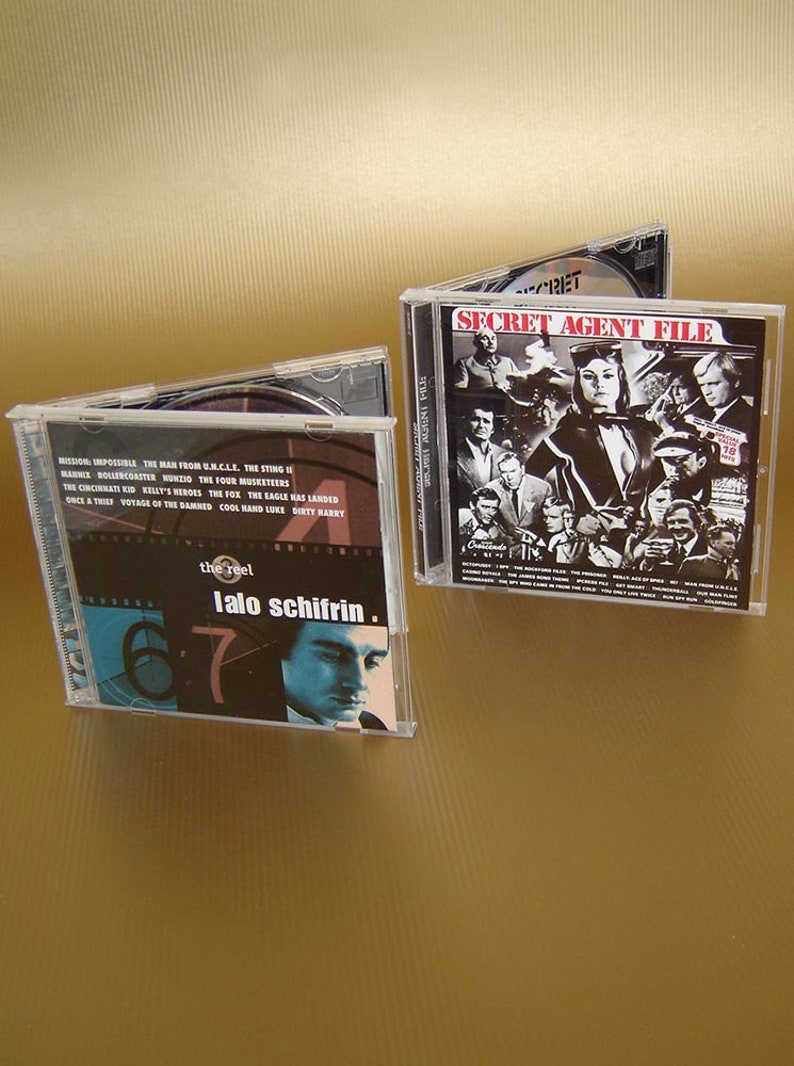 The Reel Lalo Schifrin - movie/tv themes CD plus The Secret Agent File -  movie/tv themes CD