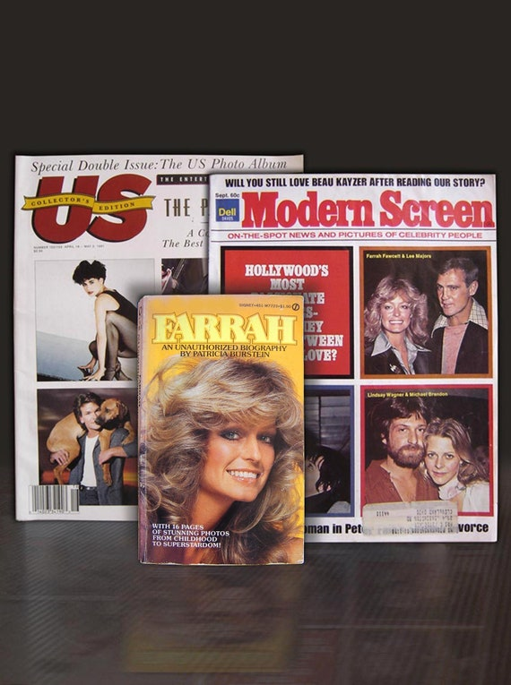 All our Masks Are Pre Cut Farrah Fawcett Retro Celebrity Actor Charlies Angels