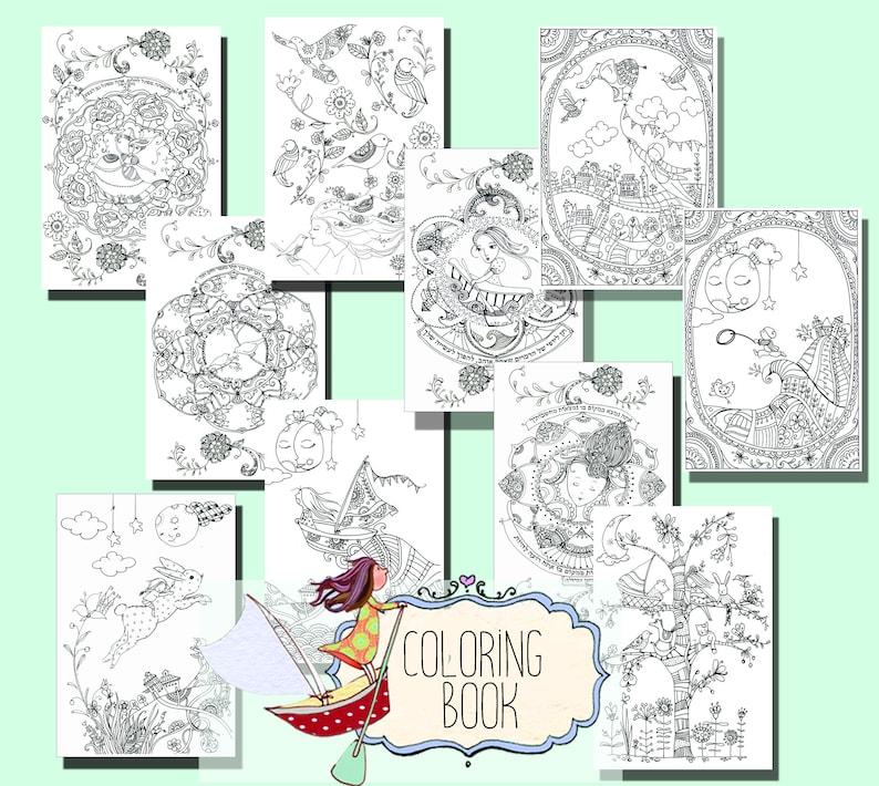 Mandala Kleurplaten Boek.Volwassen Kleurplaten Boek Wonderland Kleurplaat Kleurplaat Etsy