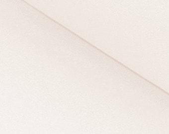 Ecru Ribbing - Stretch fabric for cuffs and waistbands