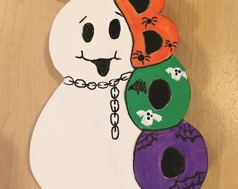 Halloween Boo Magnet - Halloween Ghost Magnet - Ghost Boo - Halloween Magnet -  Halloween Fridge Decor