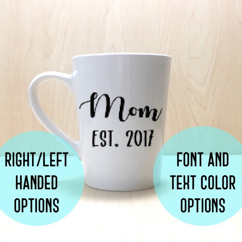 New Mom Mug  First Mother's Day Gift  Mothers Day Gift  image 0
