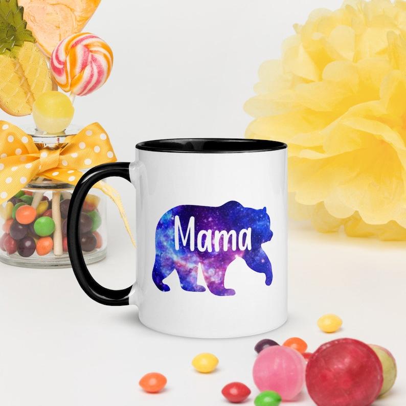 Galaxy Mama Bear Mugs Mothers Day Mama Bear Mugs Mama Bear image 0